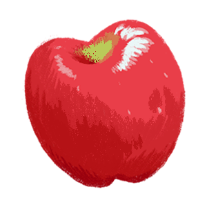 Apple - RubyFrost