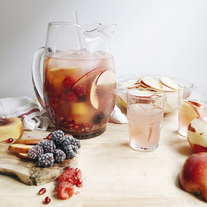 Recipe Photo - Apple and Friends Sangria