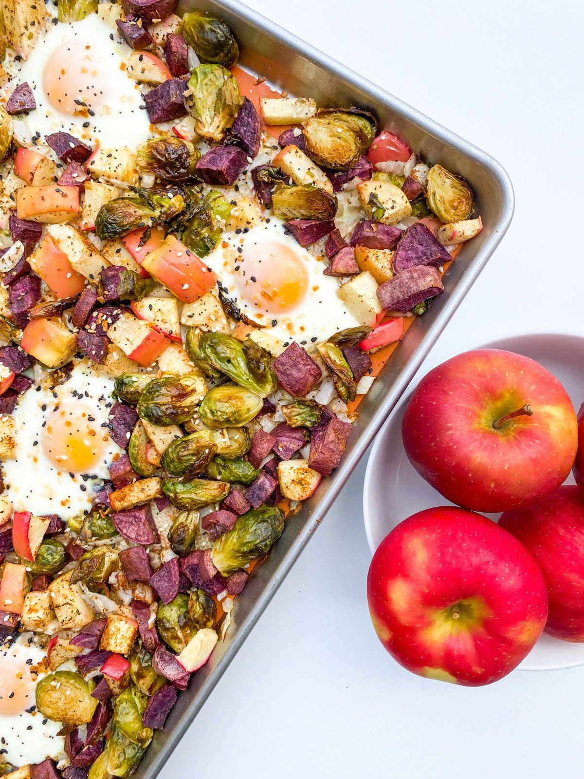 Recipe Photo - Sheet Pan Breakfast Hash with Yes! Apples